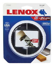 "NEW! LENOX Bi-Metal Hole Saw 3-1/4"" 1772023"