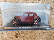 FIAT NUOVA BALILLA 1100 1937 HACHETTE SCALA 1/43