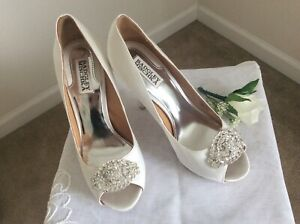 Bradley Mischka wedding shoes