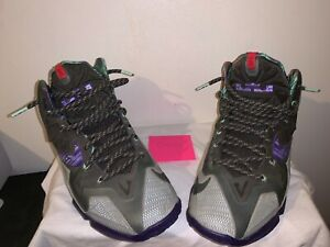 Nike Lebron James 11 Terracotta Warrior 9/10 Condition No Box Size 9.5 USPS