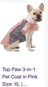 XLarge 3-in-one Doggie Jacket NEW WITH TAGS