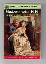 MADEMOISELLE FIFI (Guy de Maupassant/1st thus US pb/short stories)