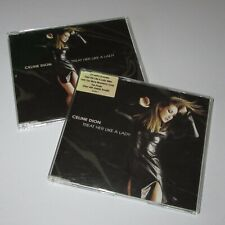CELINE DION - Treat Her Like A Lady - 2 x CD Single Set (1999)
