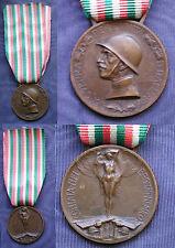 MEDAGLIA CONIATA BRONZO NEMICO CAMPAGNA ITALO AUSTRIACA 1915/18 - C.F.M.L. #4