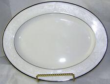 White Oval Serving Platter 11 5/8 inch Sorrento by Noritake