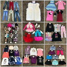 Girls Clothing Lot 7 8 10 12 Dress Skirt Shirt Top Pant Short Dance Outfit Shoe+