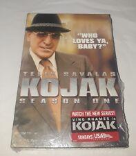 Kojak  Season 1  (DVD, 2005, 3-Disc Set, Complete 22 Episodes, Season 1) New
