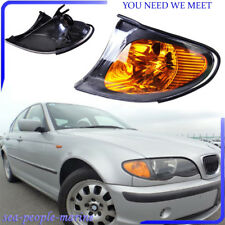 Park Signal Corner Amber Yellow Lens Cover Light For BMW 3Series E46 02-05 Style
