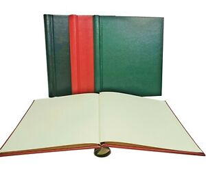 A Quality Springback Stamp Binder with a cream flyleaf - Choice of colours