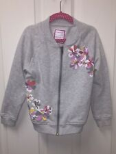 Gymboree - Girl's Zipped Up Sweater - (Size 5-6) - Pre-Owned