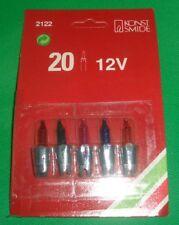 5x Konstsmide 2122-550 12Volt Ersatzbirnen f. 20 Lichterketten Bunt Sockel Grün