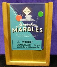 SECRET WOODEN BOX MARVELOUS MARBLES NEW in SEALED BOX Professor Puzzle