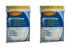 ENVIROCARE SHARP TYPE PU-2---6 BAGS VACUUM CLEANER BAGS