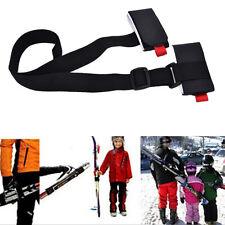 Einstellbare SkiPole Schulter Hand Träger Lash Handle Strap Porter Hook Loop WH