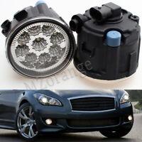 Bemper Fog Light For Infiniti EX35 G37 QX50 M37 NISSAN CUBE ROGUE JUKE Pair L/R