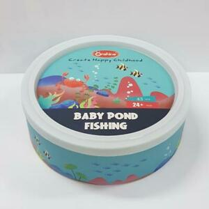 Educational Magnetic Baby Pond Fishing Game - Early Learning Wooden Toy 43pc Set