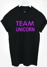 Unicorn Graphic Tees 100% Cotton T-Shirts for Women
