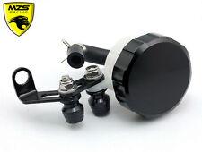 Black Universal Brake Fluid Reservoir For Suzuki GSXR600 750 1000 1300 Bandit