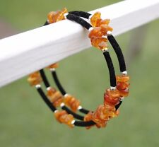 100% Genuine Baltic Amber Bracelet. Natural Handmade. Pure amber