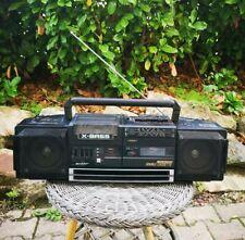 Vintage Boombox Ghettoblaster SHARP WQ-T354 Double Cassette Fonctionnel