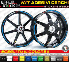 Adesivi/Stickers SUZUKI GSX-R 600 750 1000 CERCHI STRIPES RIMS TOP QUALITY !!