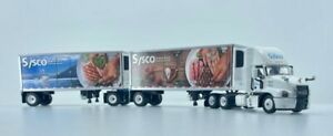 DCP 1:64 Mack Anthem w/ Pup Reefer Doubles: SYSCO 2021 Graphics