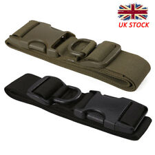 Quick Release Buckle Military Trouser BELT Army Tactical Canvas Webbing Black