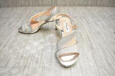 **Nina Nasreen Heels - Women's Size 7M, Silver