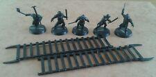 LOTR Warhammer Games Workshop Uruk-Hai siege troupes base painted