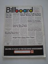 BILLBOARD 12 Sep. 1970 Neil Young Cardboard  Ad JOHNNY WINTER Adriano Celentano