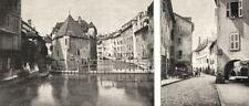 HAUTE- SAVOIE. Annecy. Ancien Présidial; Les Portiques 1900 old antique print