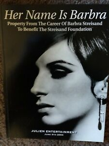 Her Name is Barbra Julien Entertainment 2004 Auction Booklet 421 items 240 pages