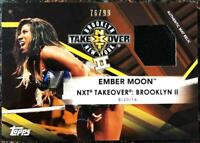 2017 Topps WWE NXT Mat Relics Trading Cards Pick From List