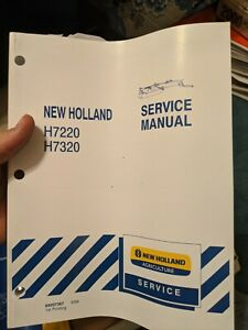 New Holland H7220 H7320 Disc Mower Conditioner Service Repair Manual ORIGINAL NH