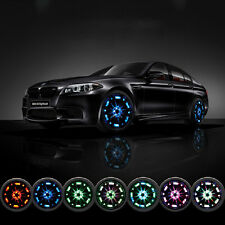 4Pcs/Set Car Auto 16 LED Solar Energy Flash Wheel Tire Light Lamp Decoration Hot