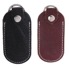 2Pack Mini Leather Bag Travel Organizer Case For Hard Disk/USB/Data Cable