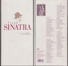FRANK SINATRA Complete Capitol Singles Collection 1996 4 Disc CD Box Set Booklet
