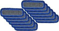Microfiber Dust Mop Pad 36 Hook And Loop Flat Mop Pad Withfringe 12 Pack