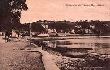 Queenstown Cork Ireland birds eye view Whitepoint terrace antique pc Y13556