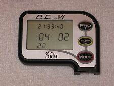 SRM PowerControl 6 (PC6) w/USB Charging cable and Handlebar mount