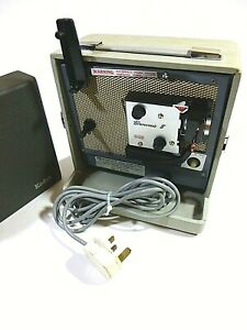VINTAGE PROJECTOR - KODAK BROWNIE 8MM PROJECTOR A 15G - AUTO THREADING - WORKING
