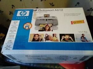 HP Photosmart A612 Mobile Compact Inkjet Printer New