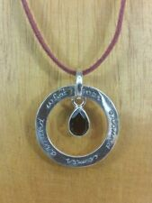 Garnet Stone Sterling Silver Handcrafted Jewellery