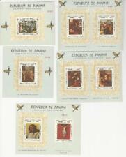 Panama 1968 - Famous Christian Paintings Stamps Scott #482F-K  - MNH