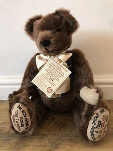 Hermann. The Last Bear Coburg In The Old Millenium. Collectors. Bear. Limited Ed