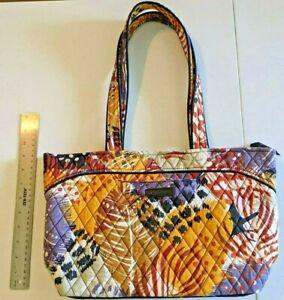 Vera Bradley Mandy PAINTED FEATHERS Purse Shoulder Bag