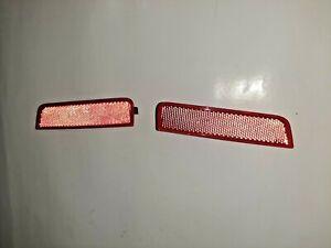 Renault Dacia 8200384035 8200384036 Rear Left+Right Bumper Reflectors 7701208720