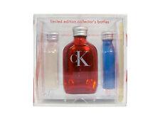 CK ONE by Calvin Klein 4 Piece set: 4 x 15 ml Eau de Toilette Splash (Lmtd Ed)
