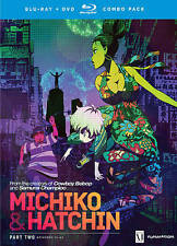 MICHIKO & HATCHIN Part Two Episodes 12-22 on Blu Ray & DVD (DH261)