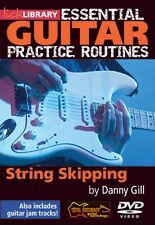 String Skipping Essential Guitar Practice Routines Lick Library DVD NE 000393080